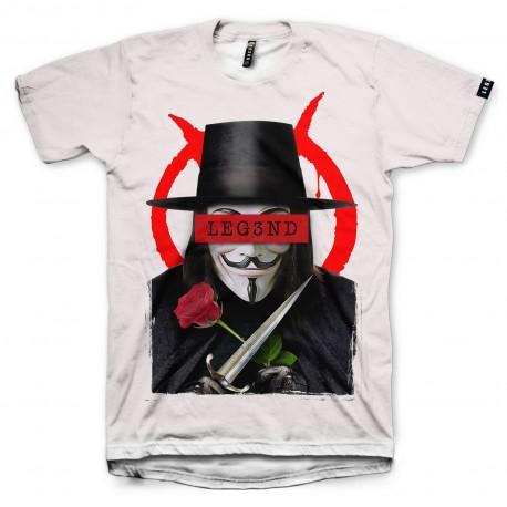 camiseta leg3nd v de vendetta Hugo Weaving