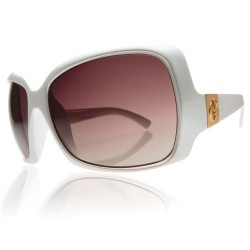 ELECTRIC VELVETEEN PEARLESCENT WHITE/BROWN GRAD LENS