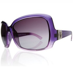 ELECTRIC VELVETEEN PURPLE FADE/GREY GRAD LENS