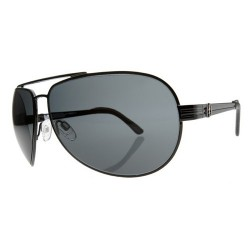 ELELCTRIC BULLITT GLOSS BLACK/GREY LENS