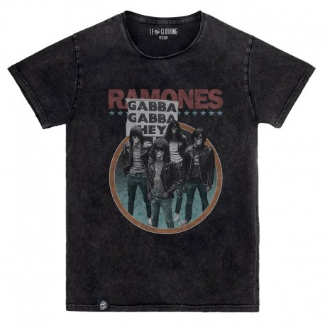 Camiseta Unisex Le Crane Ramones Skull