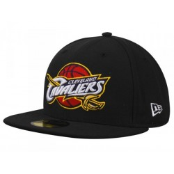 GORRA NEW ERA BASIC CLEVELAN CAVALIERS TEAM 59FIFTY BLACK