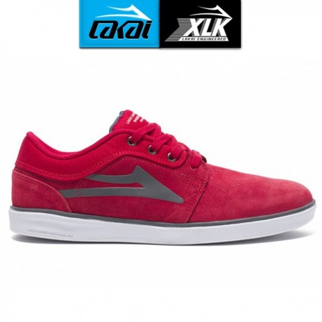 ZAPATILLA LAKAI HOWARD RED SUEDE