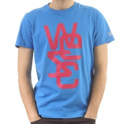CAMISETA WESC OVERLAY T-SHIRT HORIZON BLUE