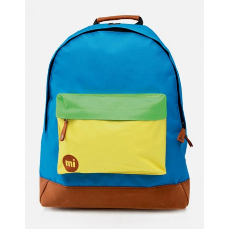 MOCHILA MI-PAC TRI TONE ROYAL-YELLOW-GREEN