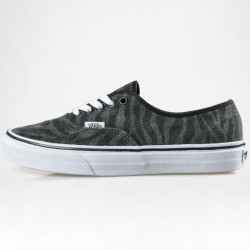 ZAPATILLA VANS AUTHENTIC (SUEDE) ZEBRA / TRUE WHITE
