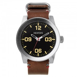RELOJ NIXON CORPORAL BLACK / BROWN