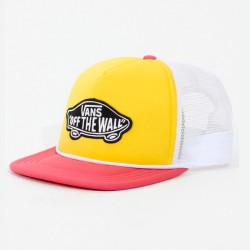 GORRA VANS CLASSIC PATCH TRUCKER MAIZE HONEYSUCKLE
