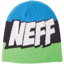 GORRO NEFF CARTOON SLIME / BLACK / CYAN