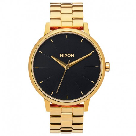 RELOJ NIXON KENSINGTON ALL GOLD / BLACK SUNRAY