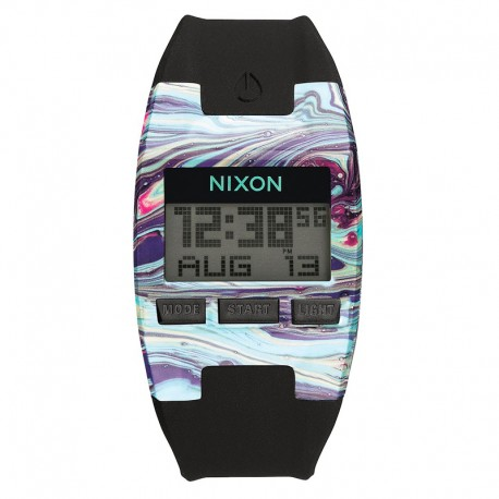 RELOJ NIXON COMP S MARBLED MULTI / BLACK