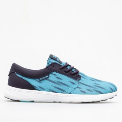 ZAPATILLA SUPRA HAMMER RUN NEON BLUE / NAVY WHITE