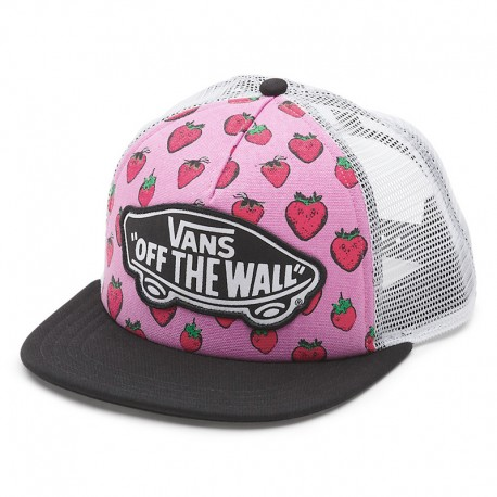 GORRA VANS BEACH GIRL TRUCKER STRAWBERRIES PASTEL / LAVENDER / TRUE WHITE