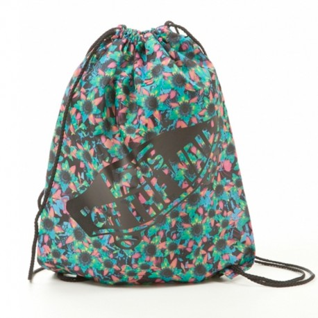 BOLSA VANS BENCHED BAG FLORAL MIX BLACK