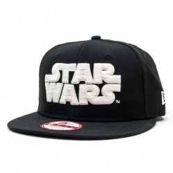 GORRA NEW ERA X STAR WARS 9FIFTY BLACK / GLOW IN THE DARK
