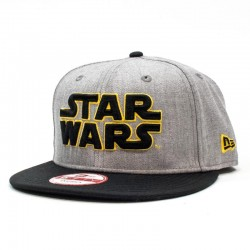 GORRA NEW ERA X STAR WARS 9FIFTY HEATHER GRAY / BLACK