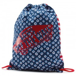 MOCHILA VANS BENCHED NOVELTY DYED DOTS STRIPES BLUE RED