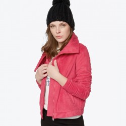 CHAQUETA CHICA BENCH DIFFERENCE PINK