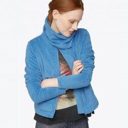 CHAQUETA CHICA BENCH DIFFERENCE BLUE