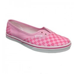 VANS AUTHENTIC LO DOWN (WHITE/PINK)