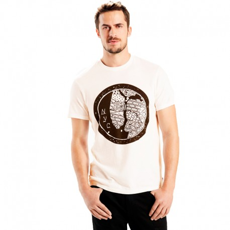CAMISETA LEVI'S® COMMUTER DROP HEM TEE NYC