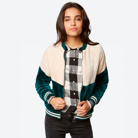CAZADORA BENCH COLOR BLOCK BOMBER