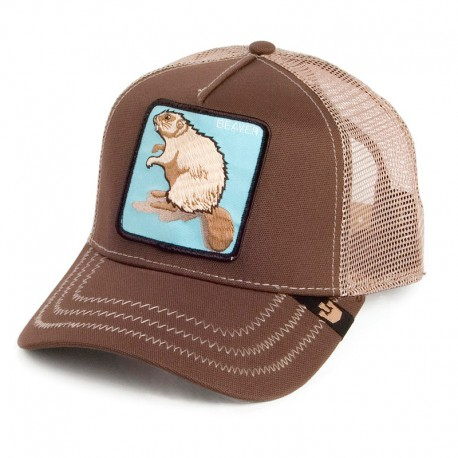 GORRA GOORIN BROS TRUCKER BASEBALL BEAVER ANIMAL FARM