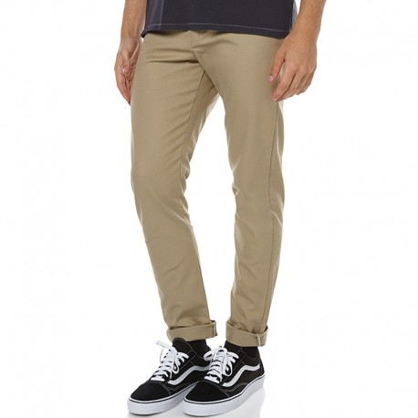 PANTALON DICKIES 803 SLIM SKINNYS WORK PANT BRITISH TAN