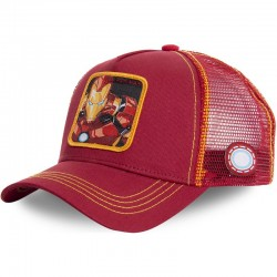 GORRA MARVEL COMICS IRON MAN CAPSLAB