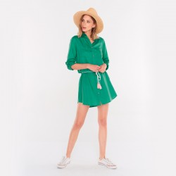 VESTIDO FEMI STORIES STROM VERDE