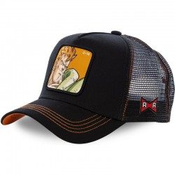 GORRA DRAGON BALL MASTER ANDROIDE C16 CAPSLAB NEGRA