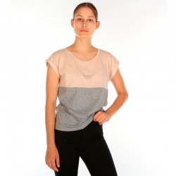 CAMISETA IRIEDAILY BLOCK GIRL GREY / MEL