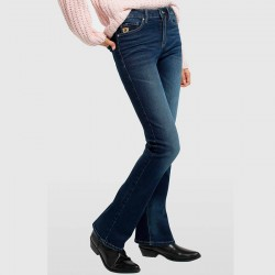 PANTALON LOIS DENIM BLUE / LUA BOOT / PAULE